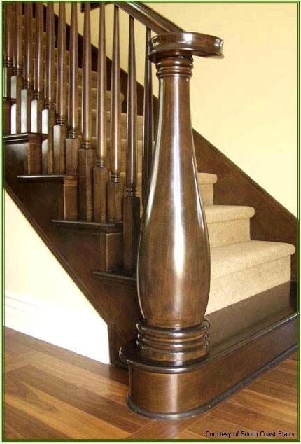 Roger S Woodturning Inc Classic Wood Stairways We
